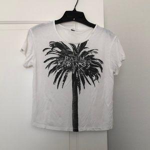 Forever 21 white short sleeve shirt